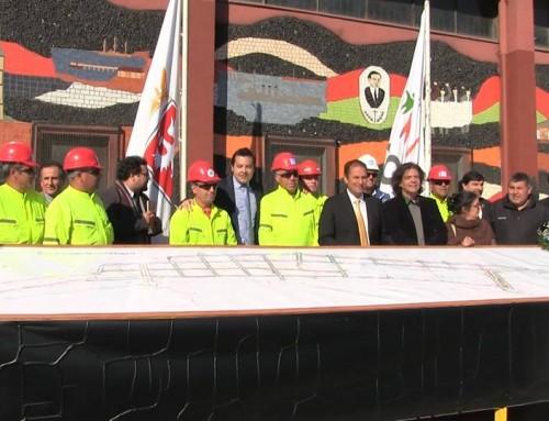 Autoridades inspeccionaron corredor de transporte público en Coronel