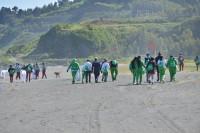 limpieza de playa b
