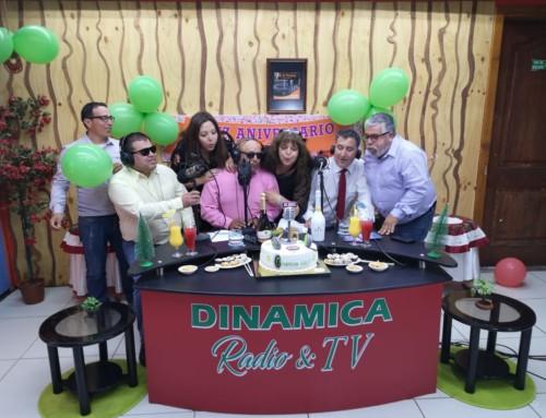 Radio Dinámica celebró su cumpleaños 26