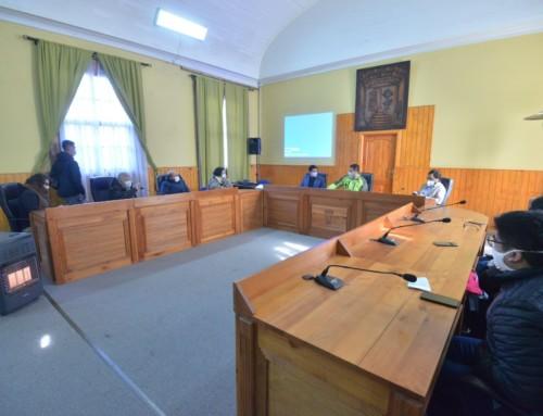 Pro Cultura expuso plan de trabajo para los 8 meses de administración provisoria del circuito turístico de Lota