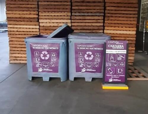 Camanchaca y sus trabajadores logran reciclar 2 toneladas de e-waste